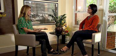 Maitê Proença é a entrevistada do programa Conversa com Roseann Kennedy que vai ao ar hoje na TV Brasil (TV Brasil/Divulgação)
