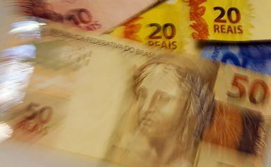 Moeda Nacional, Real, Dinheiro, notas de real