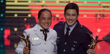 Campeões mundiais e pan-americanos, Arthur Nory e Beatriz Ferreira vencem o Prêmio Brasil Olímpico 2019