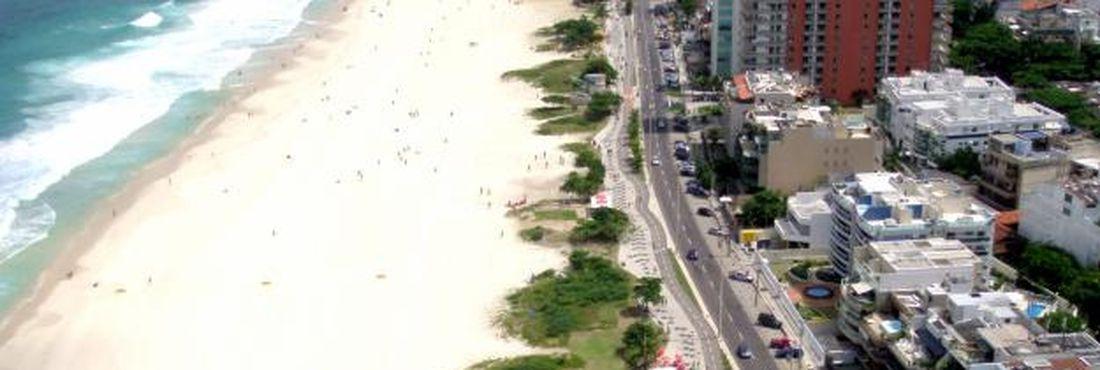 A Barra da Tijuca vai receber várias atividades das Olimpíadas de 2016