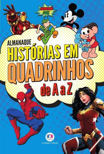Capa do Almanaque Histórias em Quadrinhos de A a Z