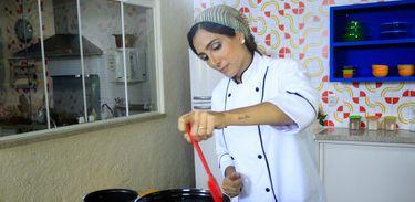 """A nutricionista Andrea Santa Rosa no """"Cozinhadinho"""""""