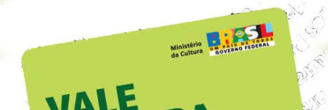 Modelo do cartão do Vale Cultura