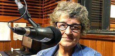 Fátima Guedes no estúdio da MEC AM