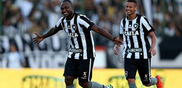 Sassá e Joel marcaram os gols do Glorioso