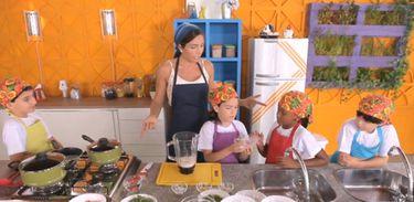 Cozinhadinho ensina que quanto mais cores mais nutrientes