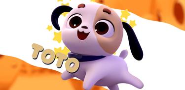 Toto é cãozinho da doce Lupita na série infantil