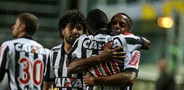 Cazares marcou o gol da vitória do Galo
