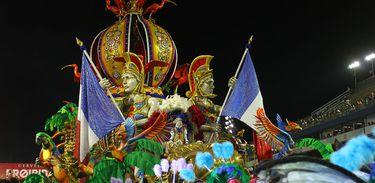 São Paulo - Desfile da Acadêmicos do Tatuapé durante o primeiro dia do carnaval paulista (Divulgação/LigaSP)
