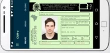CNH digital (Divulgação/Detran-DF)