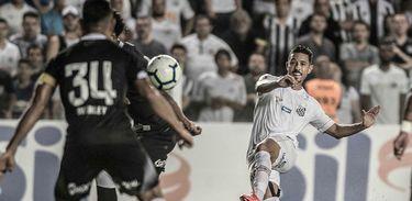 Santos 2 x 0 Vasco