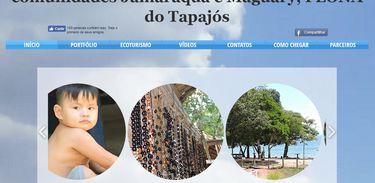 Site reúne informações das comunidades Maguari e Jamaraquá, localizadas na Flona Tapajós