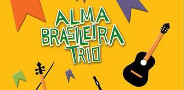 Capa do CD do Trio Alma Brasileira