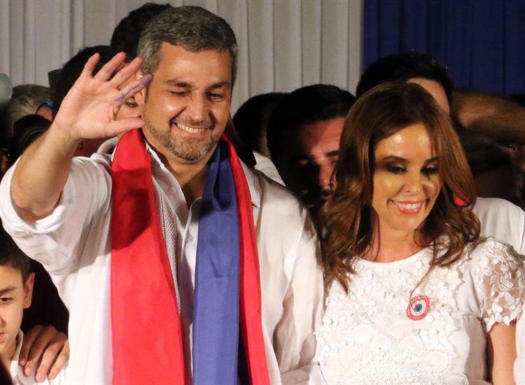 O novo presidente do Paraguai, Mario benitez