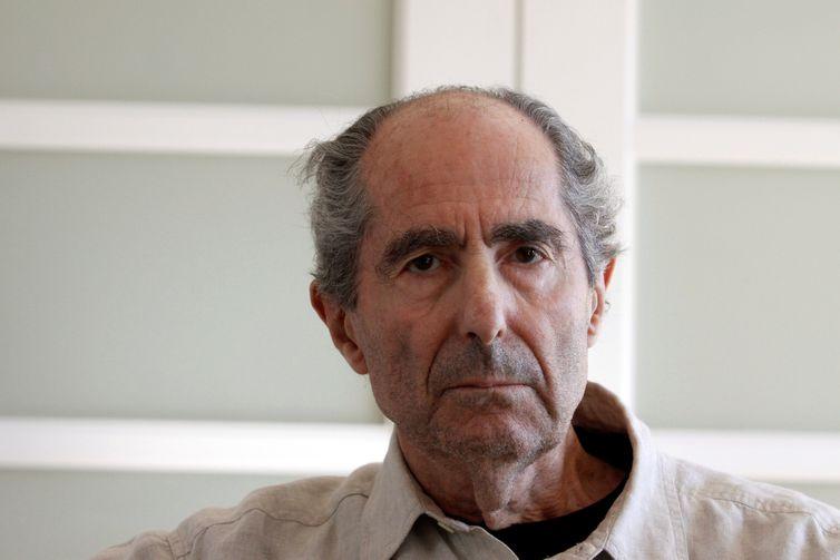 O escritor norte-americano Philip Roth