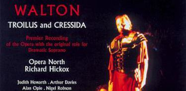 "Capa do CD ""Troilus e Cressida"", de Walton"