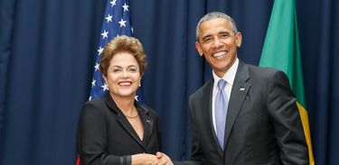 Reunião de Dilma e Obama na 7ª Cúpula das Américas