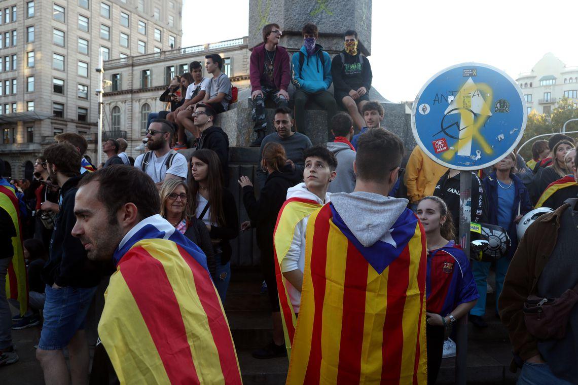 Catalunha, protesto , Espanha
