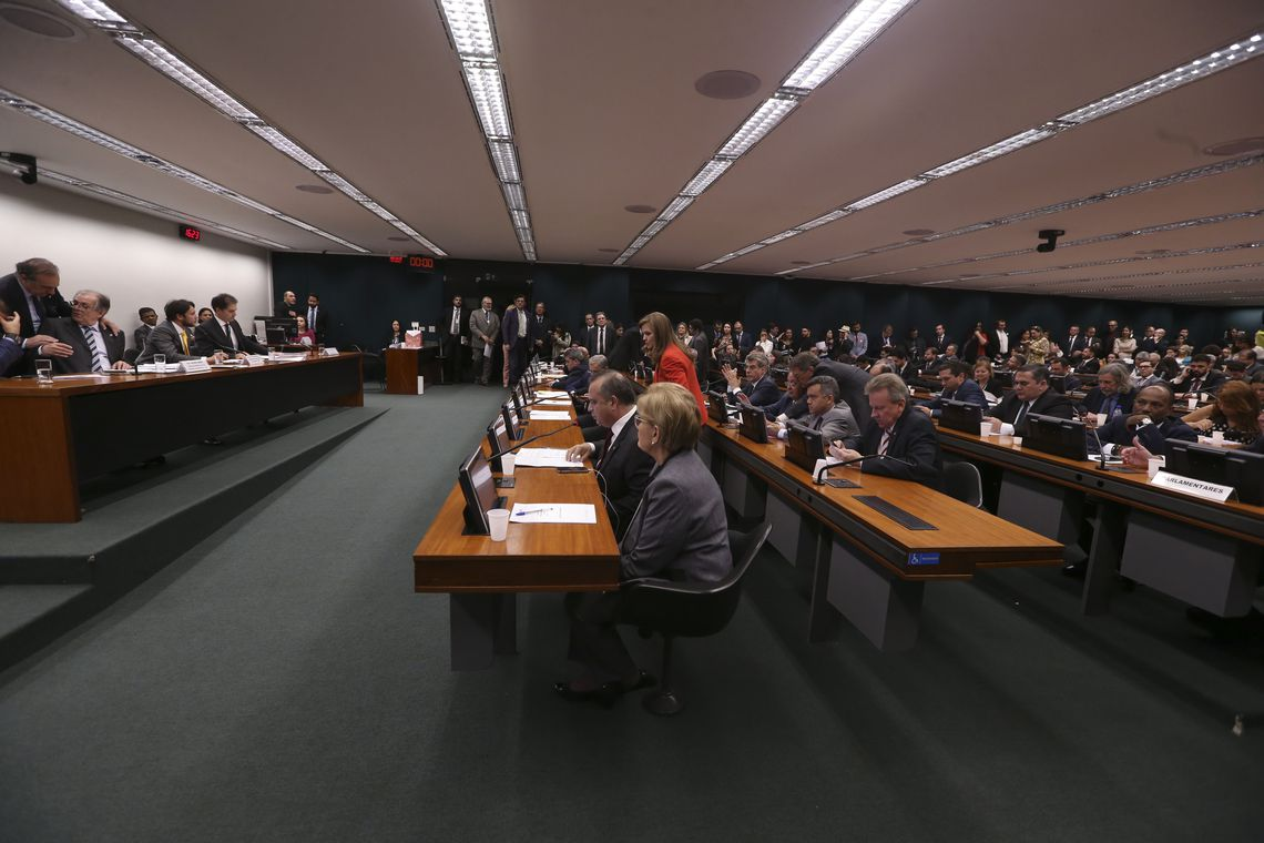 Reunião da Comissão Mista de Orçamento.