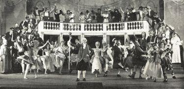 Maskarade no Jyske Opera em Aarhus (1954)