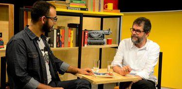 Raphael Montes conversa com o escritor e roteirista Marçal Aquino