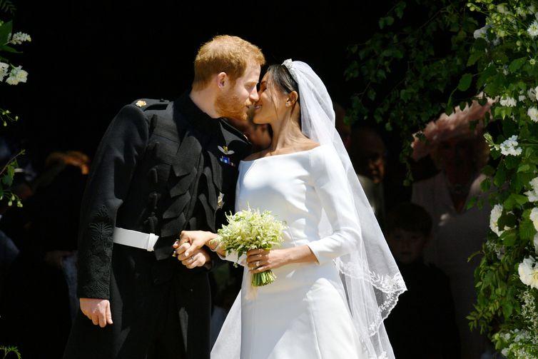 Príncipe Harry e Meghan Markle se casam na capela de São Jorge, no Castelo de Windsor