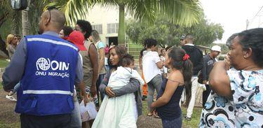 Venezuelanos vindos de Boa Vista