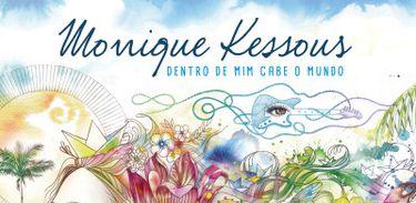 """Álbum """"Dentro de mim cabe o mundo"""", de Monike Kessous"""