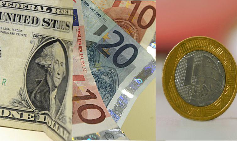 - O dólar fechou a sexrta-feira em alta de 0,6% e o euro, em queda de 0,03% -  strong Arquivo/Agência Brasil /strong