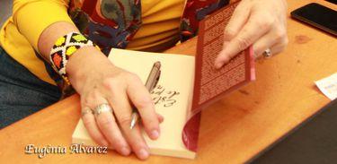A escritora Clara Arreguy