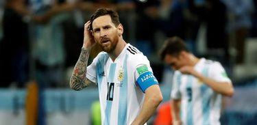 Argentina perde de 3 a 0 para Croácia em segundo jogo da Copa do Mundo 2018