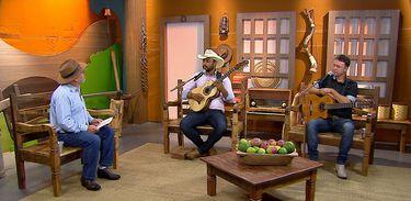 Luiz Rocha tem um dedo de prosa com a dupla Fernando & Rangel
