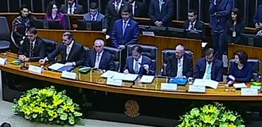 Jair Bolsonaro Câmara dos Deputados, celebração constituição cidadã