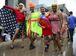 Brasília-  Bloco Virgens da Asa Norte chega ao sexto desfile consecutivo na capital. Neste domingo, ele agita os foliões no Setor Bancário Norte (Marcello Casal Jr/Agência Brasil)