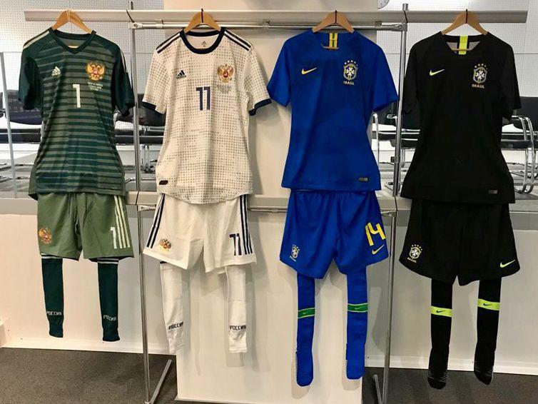 698eeb54f1 Nike lança uniformes da Seleção Brasileira para a Copa do Mundo ...