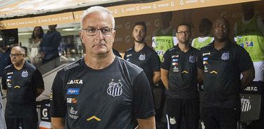 Dorival Júnior, técnico do Santos