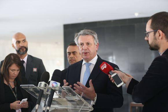 Ben van Beurden, chefe executivo da Royal Dutch Shell. Foto: Agência Brasil