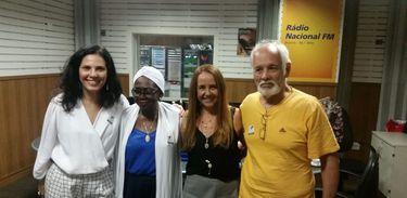 Márcia Tauil, Áurea Martins, Maria Vilhena e Cristóvão Bastos