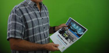 O diretor da Oxfam no Brasil, Simon Ticehurst, fala sobre relatório divulgado hoje pela organização não governamental que desenvolve campanhas e programas de combate à pobreza em todo o mundo (José Cruz/Agência Brasil)