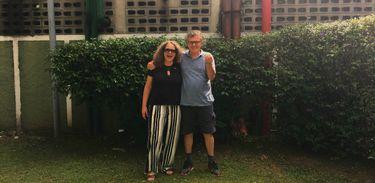Regina Machado e Arrigo Barnabé