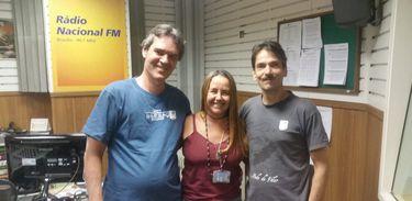 Maria Vilhena recebe os artistas idealizadores do Circo Teatro Udigrudi