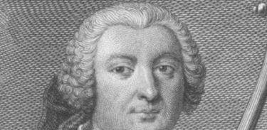 Retrato em gravura, póstumo, do compositor português Carlos Seixas