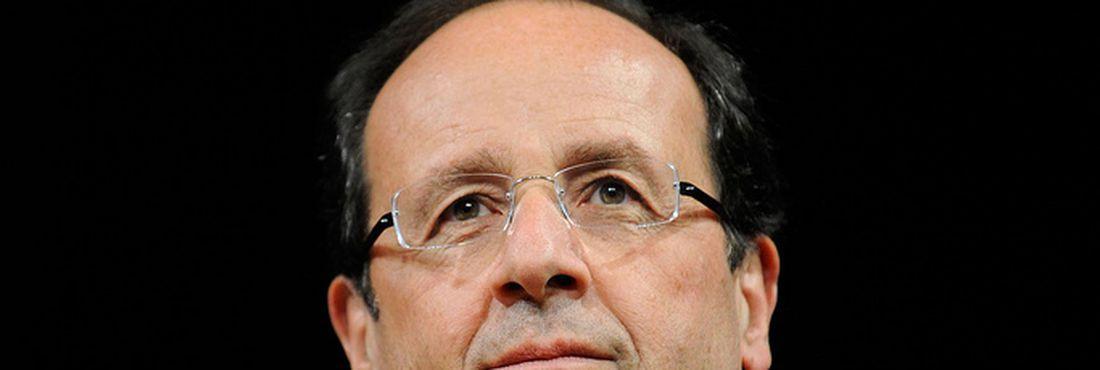 O presidente francês François Hollande