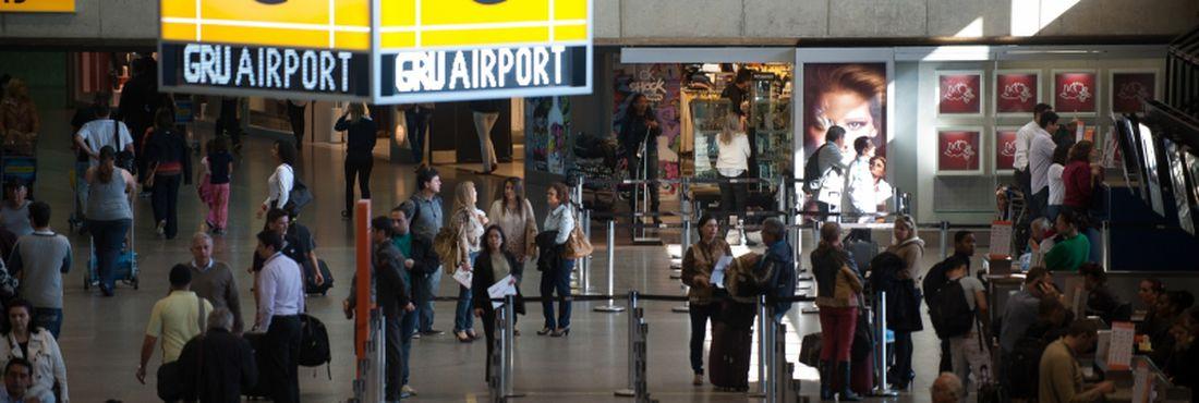 Aeroporto Internacional de Guarulhos recebe vistoria da Anac para Copa das Confederações