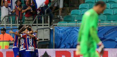 Edigar Junio marcou o gol do título do Bahia