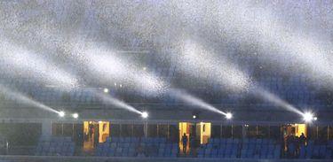 No encerramento dos Jogos Olímpicos, chuvas deixam o Rio em estade de atenção