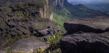 Vista do ponto mais alto do Monte Roraima
