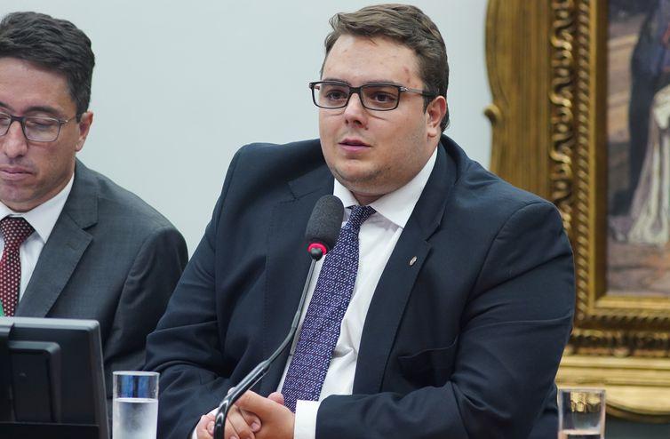 Instalação da Comissão e eleição para presidente e vice-presidentes. Presidente, dep. Felipe Francischini