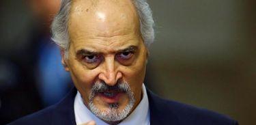 Negociador do governo sírio Ja'afari fala em Genebra