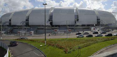 Arena das Dunas, em Natal (Valter Campanato/Arquivo Agência Brasil)